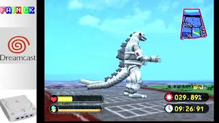 Godzilla Generations (Dreamcast) - Mehcagodzilla playthough