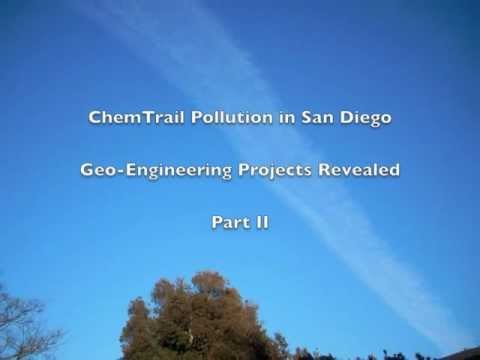 California Geo-Engineering Projects, Massive San Diego Chemtrail