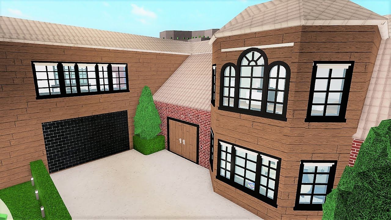 Building A Family House Roblox Bloxburg 205k YouTube