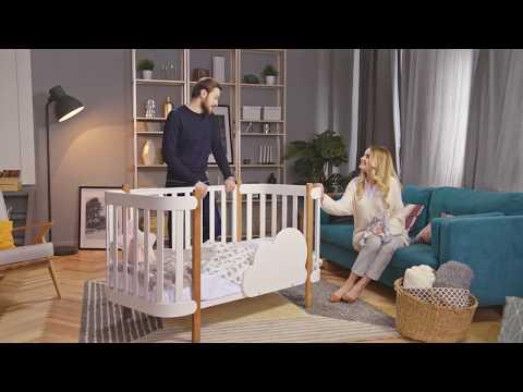 Обзор Happy Baby MOMMY - детская кроватка-трансформер