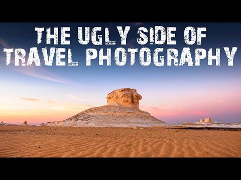 The UGLY side of Travel Photography | White Desert in Egypt