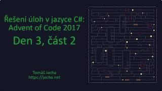 Řešení Advent of Code 2017 v C# – den 3.2: Spiral Memory thumbnail