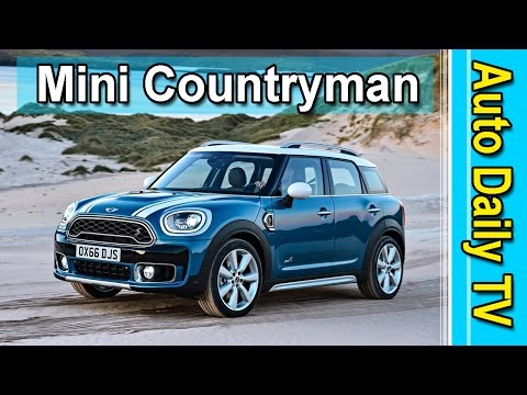 Mini Countryman and Countryman E-Plug in Hybrid 2017 | Auto Daily