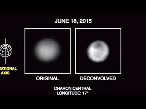 Pluto: Surface Features Visible - Charon Has Dark Pole | Video