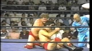 【プロレス】1980 9 4 ハリー・レイスvsジャイアント馬場 NWA世界ヘビー級選手権 佐賀スポーツセンター