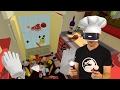 בואו נשחק -  Job Simulator - השף הגרוע בעולם