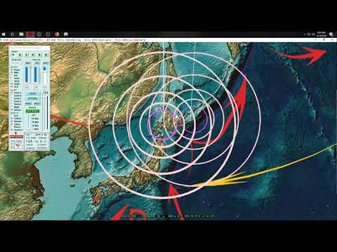 4/19/2019 -- Global Earthquake Update -- Between waves now -- Be prepared for increase