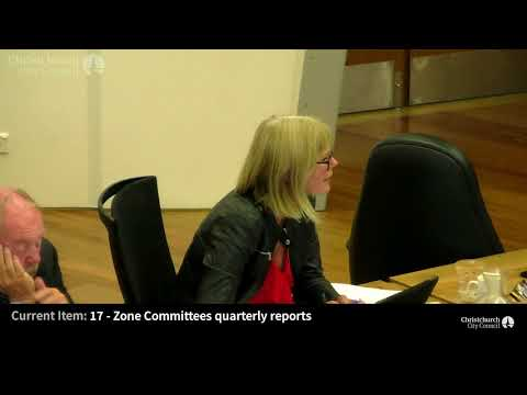 01.03.18 - Item 17 - Zone Committees quarterly reports