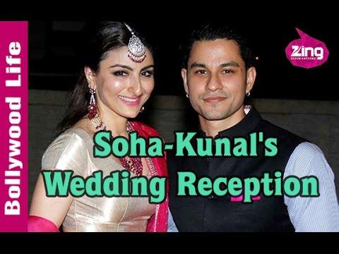 Saif, Kareena, Sharmila and more at Soha-Kunal's Wedding Reception | Bollywood Life