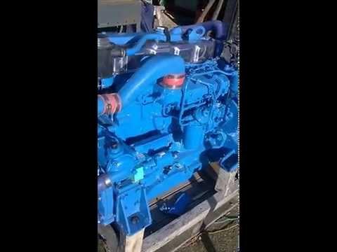 FORD MERMAID TURBO 4 II 200HP @2500rpm MARINE ENGINE