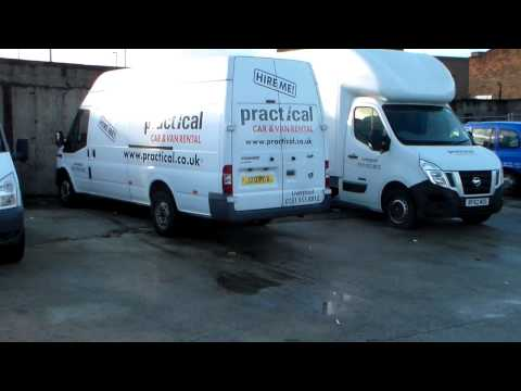 Car and Van Hire in Liverpool