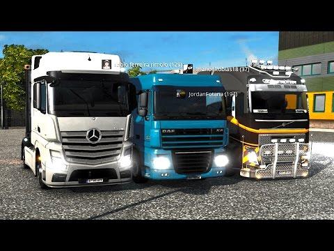 Caminhoneiros da Madrugada #2 - Mercedes-Benz Bravo, Em Busca da Concessionária Renault! (G27 mod)