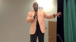 Motivational Speaker Mark Anthony Garrett Speaks For The Community Act Association PART 5