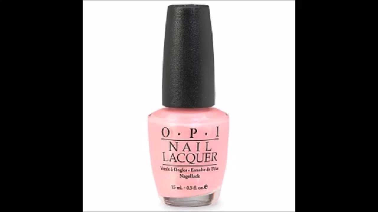 OPI Italiana Collection Nail Lacquer, Italian Love Affair - YouTube