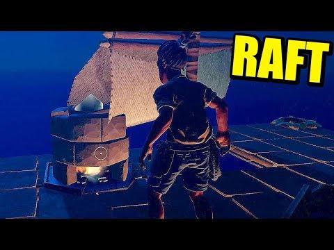 RAFT COOP - TRAS LA ANTENA Y RECEPTOR DE RADIO   Gameplay Español