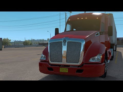 American Truck Simulator - New Mexico - Albuquerque to Las Cruces - Gameplay (PC HD) [1080p60FPS]