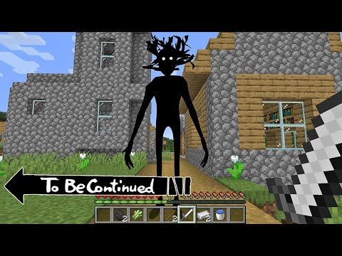 TO BE CONTINUED - Shadow Man in Minecraft By Scooby Craft MEME |