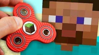 amazing minecraft fidget spinner tricks