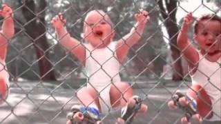 DRUNK BABIES BREAK DANCING & ROLLER SKATING TO I JUST LIKE TO PARTY BY POTENCY