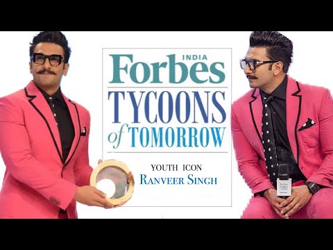 Ranveer Singh at Forbes India's Tycoons Of Tomorrow event💗 thumbnail
