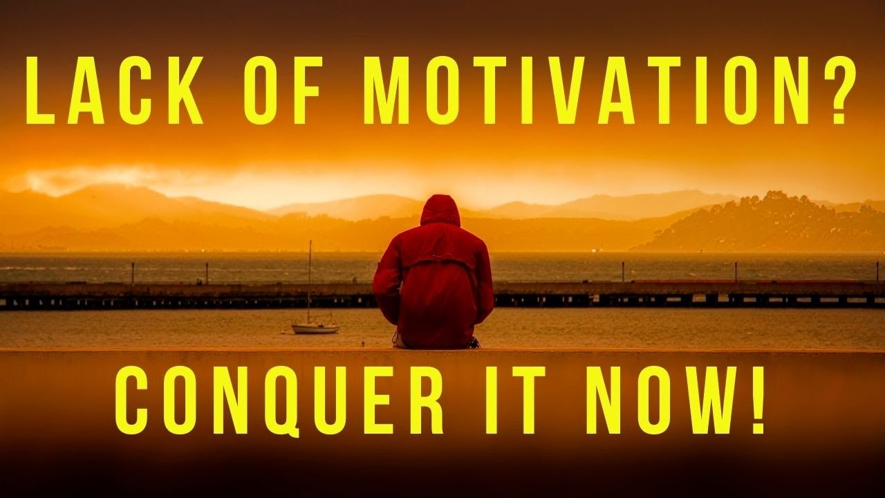 Conquering The Lack of Motivation - Law Of Attraction Success, The Secret
