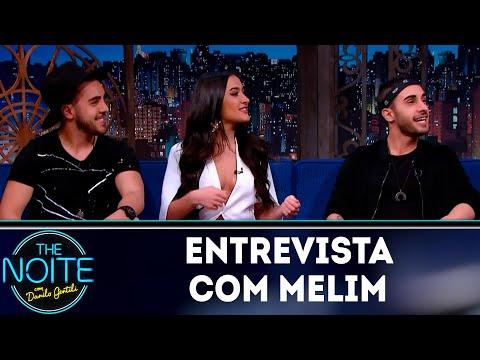 Entrevista com Melim | The Noite (07/09/18)