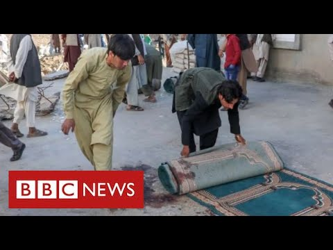 Dozens dead in bomb attack on mosque in Afghanistan - BBC News