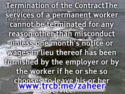Labor Rights and Laws in Pakistan