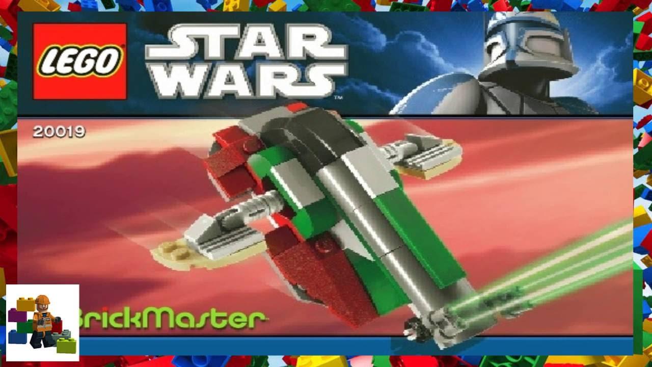 Lego Instructions Brickmaster 20019 Slave I 2011 Youtube
