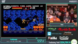 Awesome Games Done Quick 2015 - Part 58 - Castlevania by kissmyafrocard