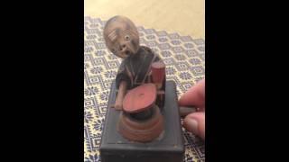 Antique Wooden Japanese Kobe Toy 1900's