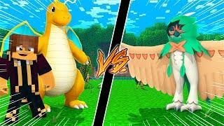 Minecraft Pokemon da Sorte Dark, Dragonite VS Decidueye! Pixelmon