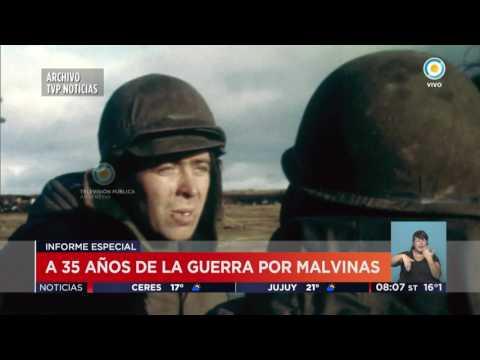 TV Públicas Noticias - A 35 años de Malvinas: Informe con imágenes inéditas