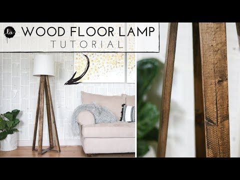 DIY Floor Lamp BIG REVEAL!!!!