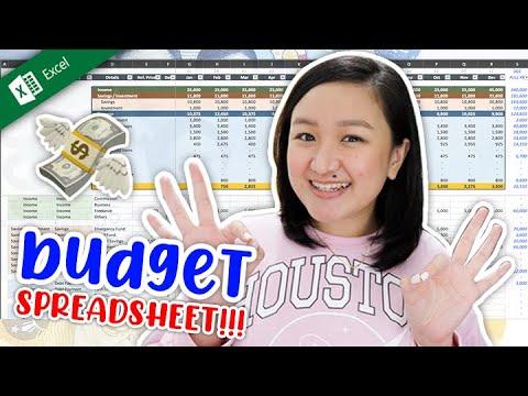 2021 BUDGETING TEMPLATE!! ✨💸 (user-friendly spreadsheet ü didn't know ü needed 😉)   tita talks 🍵