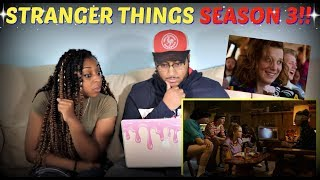 """""""Stranger Things 3"""" Final Trailer REACTION!!"""