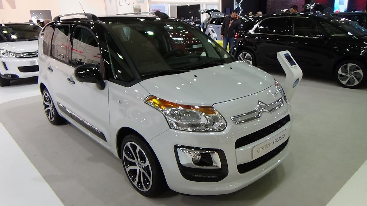 2015 citroen c3 picasso auto show brussels 2015 youtube. Black Bedroom Furniture Sets. Home Design Ideas