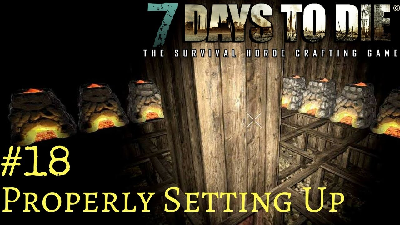 Days To Die Crafting A Forge
