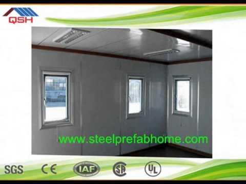 Low Cost Light Steel Prefabricated House In Saudi Arabia