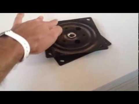 Piastra rotante per piani youtube - Meccanismo rotante per tavolo ...