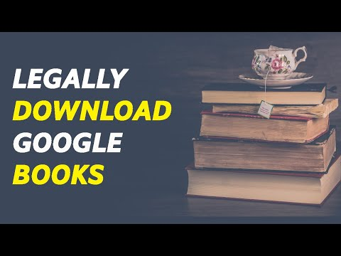 How To Legally Download Books From Google Books For Free