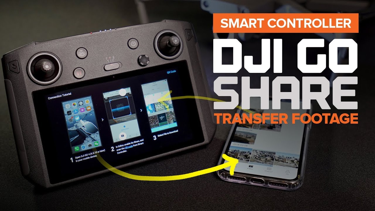 Go Share function on the DJI Smart Controller