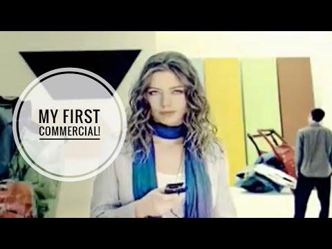 Elena Sanchez in global Sony Ericsson commercial