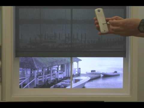 Somfy wirefree rts tilt motor doovi for Bali motorized blinds programming