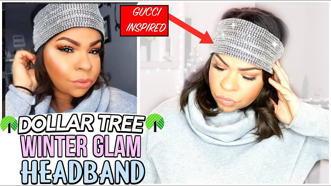 DOLLAR TREE DIY   1 DIAMOND WINTER HEADBAND  fa0772b41c2