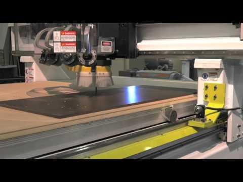 Thermwood Model 45 Machining Phenolic Sheet
