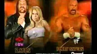 WWF Unforgiven 2001 Matchcard