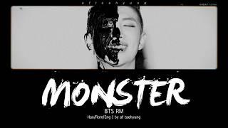 BTS RM - Monster (Color Coded Lyrics/Han/Rom/Eng)