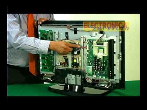 Reparando televisores de lcd hd youtube for Reparar pantalla televisor samsung