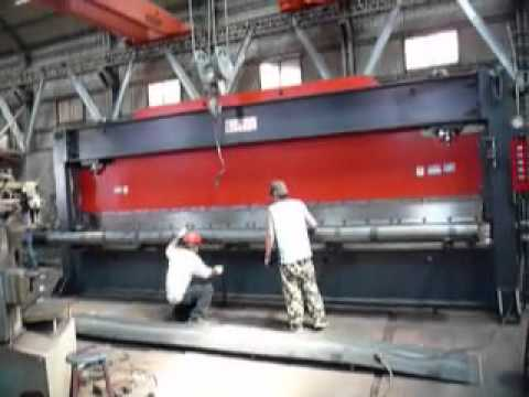 New Eleven H type frame hydraulic press brake testing